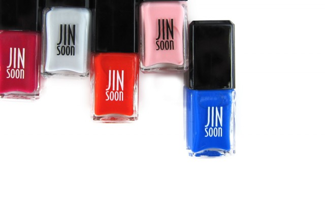jin soon spring 2014 nail polish colors